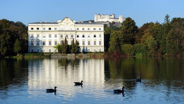 """Einer der Schauplätze des Films """"Sound of Music"""" war 1963/1964 das Schloss Leopoldskron. (Bild: APA/BARBARA GINDL)"""