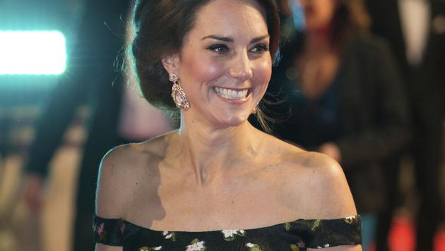 Kate stahl bei den Baftas allen die Show. (Bild: AFP)