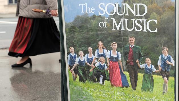 """""""The Sound of Music"""" lief 2011 zum ersten Mal als Musical-Produktion auf einer Salzburger Bühne. (Bild: APA/BARBARA GINDL)"""