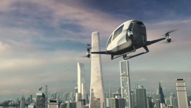 Emirate wollen Siedlung auf dem Mars bauen (Bild: YouTube.com)