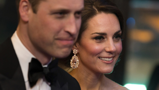 William und Kate (Bild: AFP)