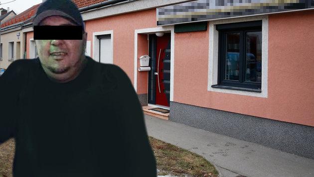 """Die """"kranke Welt"""" des 36-jährigen Messermörders (Bild: Martin A. Jöchl, """"Krone"""")"""