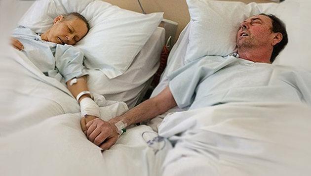 GB: Krebskranke Mama stirbt fünf Tage nach Ehemann (Bild: JustGiving, thinkstockphotos.de)