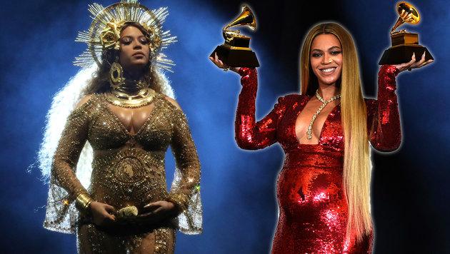 Beyonce und Jay-Z: Die Zwillinge sind da! (Bild: AP)