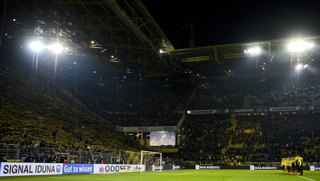 """Drama!"" Dortmunds Südtribüne wird gesperrt (Bild: AFP)"