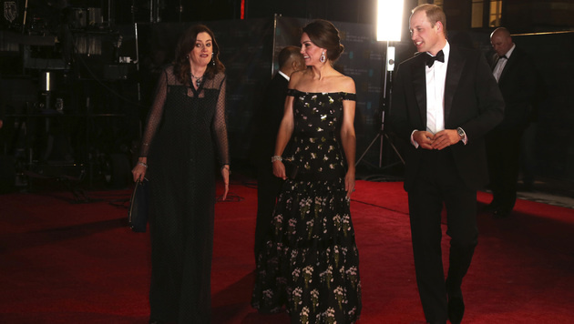 Kate und William bei den Baftas (Bild: AFP)