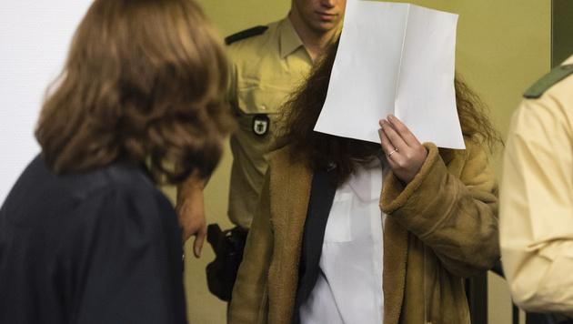 Gabriele P. steht wegen des brutalen Kreissägen-Mordes an ihrem Freund in München vor Gericht. (Bild: AP)