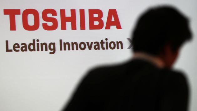 Milliardenverluste bei Toshiba: Präsident geht (Bild: AFP)