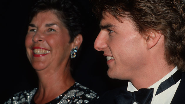 Tom Cruise und seine Mutter Mary Lee (Bild: Viennareport)