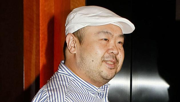Kim Jong Nam bei einem Interview in Macau im Jahr 2010 (Bild: AP)