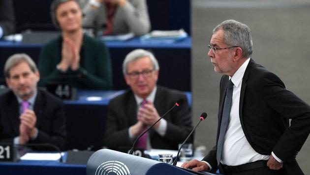 """VdB: """"Jugend nicht die Zukunft in Europa stehlen"""" (Bild: AFP)"""