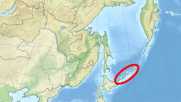 Japan empört: Russland gibt Inseln Sowjetnamen (Bild: Wikipedia (gemeinfrei))