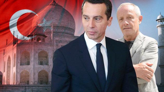 Peter Pilz deckte auf, nun will Bundeskanzler Christian Kern (li.) eine Sonderprüfung. (Bild: AFP, Andreas Fischer, thinkstockphotos.de)