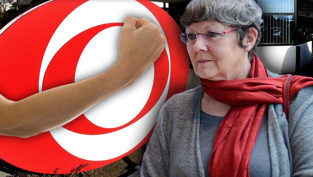 Ein ORF-Redakteur schlug Rotraud Perner im Streit nieder. (Bild: APA/HARALD SCHNEIDER, APA/HERBERT NEUBAUER, thinkstockphotos.de)