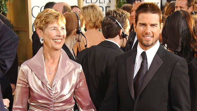 Tom Cruise mit seiner Mutter Mary Lee South (Bild: CapitalPictures/face to face)