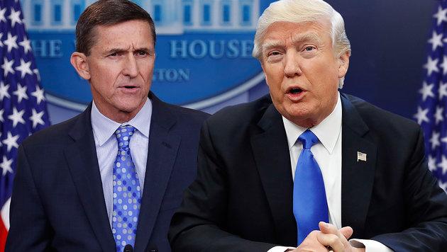 Trumps Ex-Sicherheitsberater Michael Flynn trat Mitte Februar nach nur 24 Tagen im Amt zurück. (Bild: AP)