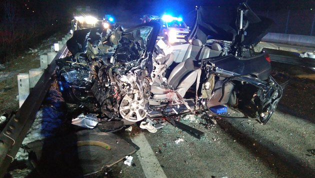 21-Jähriger starb bei Unfall mit Cabrio (Bild: BF Klagenfurt)