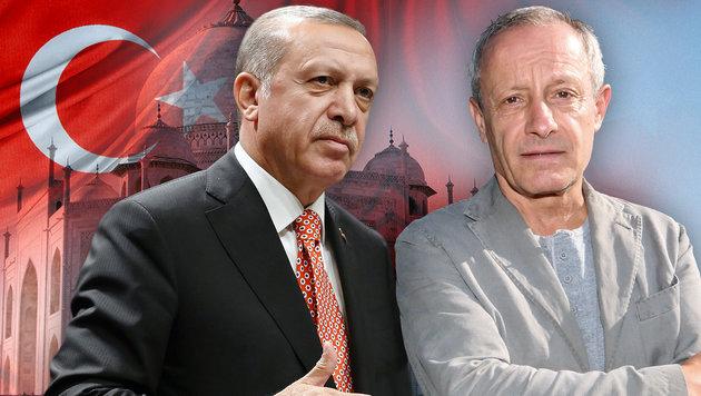 """Erdogan ist bei uns Fall für den Staatsanwalt"" (Bild: thinkstockphotos.de, AP/STF, Uta Rojsek-Wiedergut)"