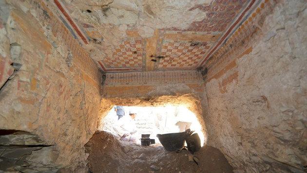 3200 Jahre altes Grab am Nil-Westufer entdeckt (Bild: Ministry of Antiques)