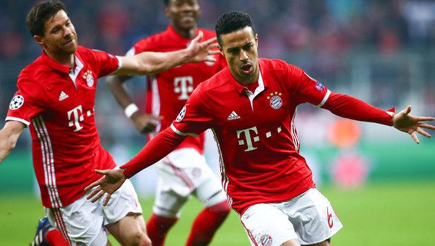 5:1! Bayern-Express zerlegt hilflose Arsenal-Elf (Bild: GEPA)