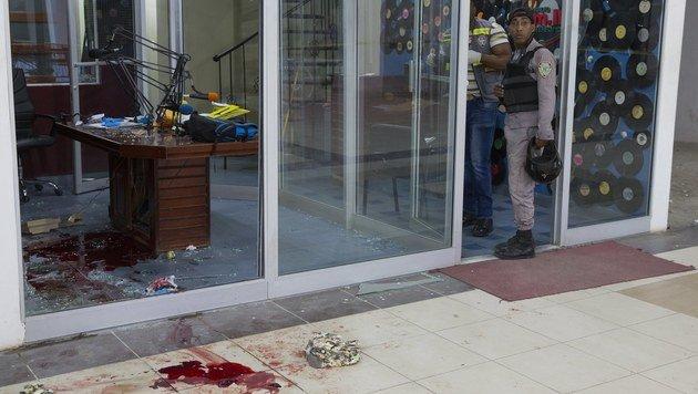 Radio-Journalisten während Sendung erschossen (Bild: EPA)