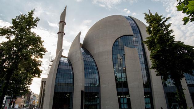 Die Zentralmoschee in Köln wird von Ditib betrieben. (Bild: AFP)