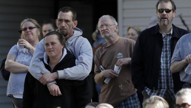 USA: Anrainer des Oroville-Stausees dürfen zurück (Bild: AP)