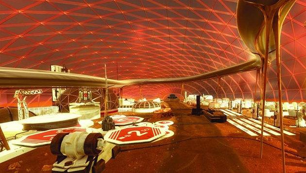 Emirate wollen Siedlung auf dem Mars bauen (Bild: Dubai Government Media Office)