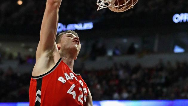 Pöltl bei Toronto-Niederlage in der Startformation (Bild: Getty Images)