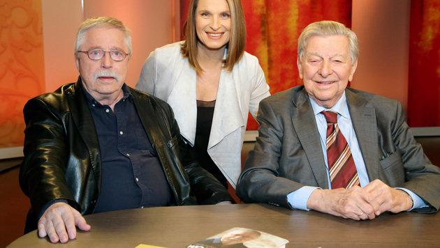 Portisch und Biermann zu Gast bei Barbara Stöckl (Bild: ORF)