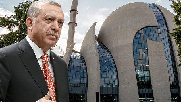 Razzia bei Erdogan-Geistlichen in Deutschland (Bild: AP, AFP)