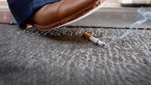 Wien: Bis zu 90 Euro für weggeworfene Zigarette (Bild: APA/GEORG HOCHMUTH)