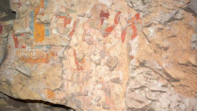 3200 Jahre altes Grab am Nil-Westufer entdeckt (Bild: Waseda University)