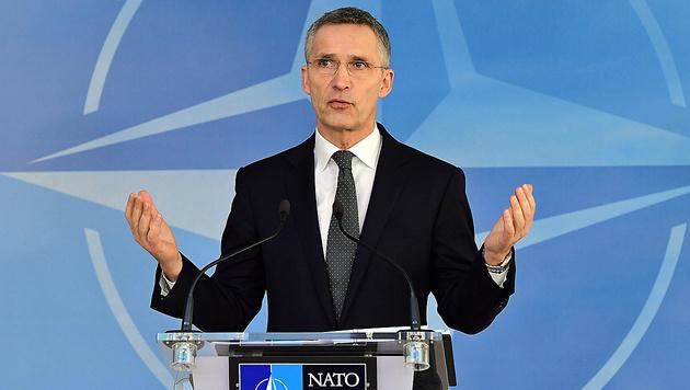 NATO-Chef Jens Stoltenberg (Bild: AFP)