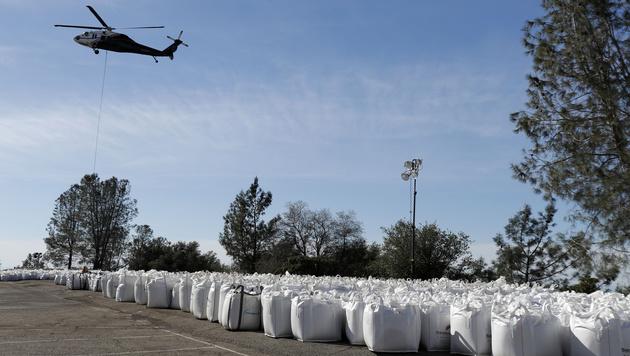 USA: Anrainer des Oroville-Stausees dürfen zurück (Bild: AFP)