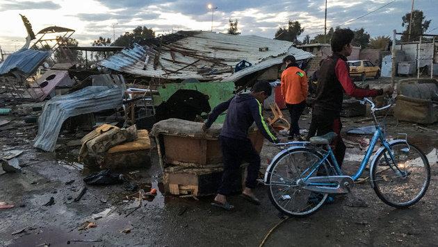 45 Tote bei Autobombenanschlag in Bagdad (Bild: AFP)