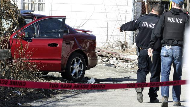 Zweijähriger erschossen: Chicago unter Schock (Bild: ASSOCIATED PRESS)