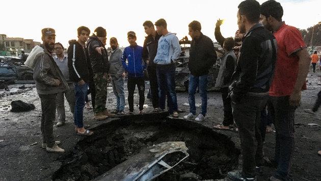 45 Tote bei Autobombenanschlag in Bagdad (Bild: AFP or licensors)