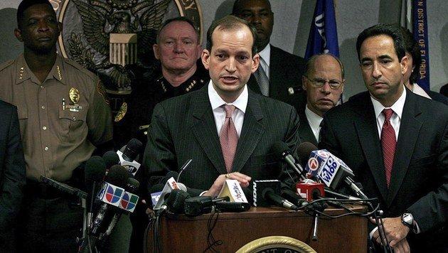 Der Jurist Alexander Acosta (Bild: EPA)