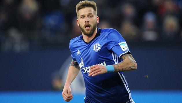Burgstaller trifft bei Schalke-Sieg gegen Saloniki (Bild: GEPA)