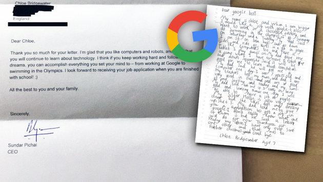 Das passiert Mädchen, das sich bei Google bewirbt (Bild: Andy Bridgewater/businessinsider.de)