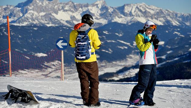 Künftig bis zu 70% weniger Schnee in den Alpen (Bild: APA/Barbara Gindl)