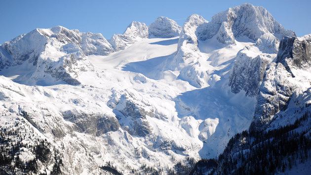 Das Dachsteinmassiv ist beliebtes Ziel bei Wintersportlern, es passieren aber immer wieder Unfälle (Bild: Klemens Fellner)