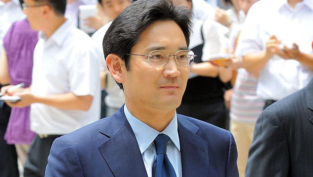 Südkorea: Samsung-Chef wegen Bestechung verhaftet (Bild: AFP)