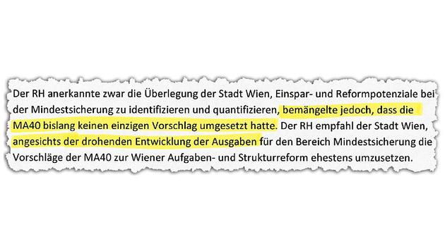 """Wien: Sparbefehl bei Sozialhilfe eiskalt ignoriert (Bild: """"Krone"""")"""