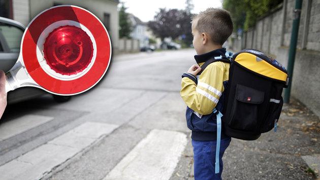 Ärger um Asylwerber als Schülerlotsen (Bild: APA/GEORG HOCHMUTH (Symbolbild), thinkstockphotos.de)