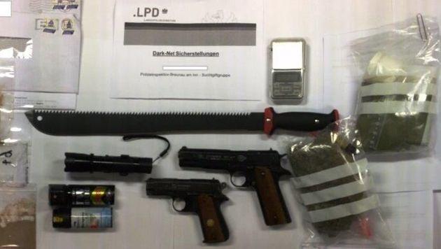 Darknet-Suchtgiftring in Braunau ausgehoben (Bild: LPD Oberösterreich)