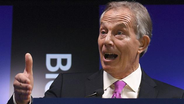 Großbritanniens Ex-Premier Tony Blair (Bild: AP)