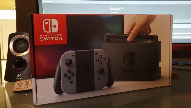 Gamer erhielt Nintendo Switch zwei Wochen zu früh (Bild: neogaf.com)