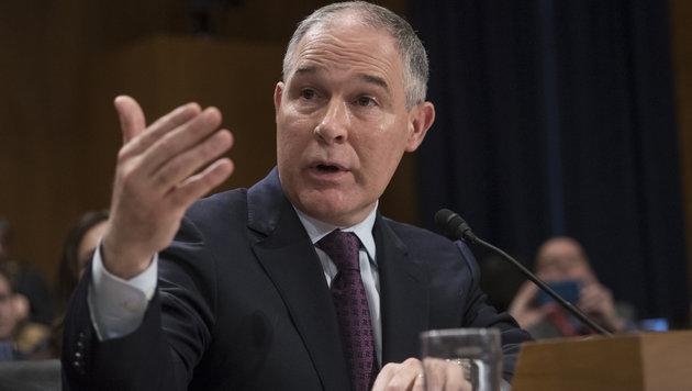 Klimaskeptiker nun Chef der US-Umweltschutzbehörde (Bild: AP)